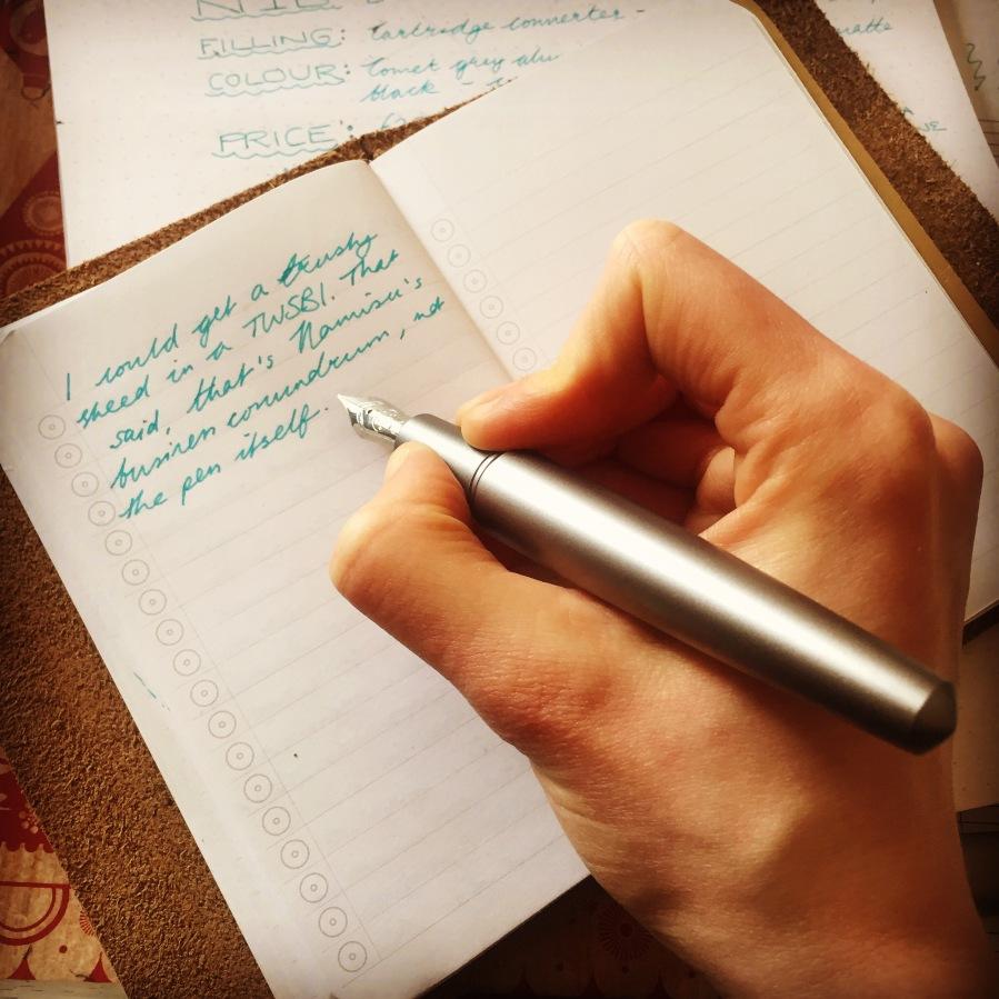Blogging in the field