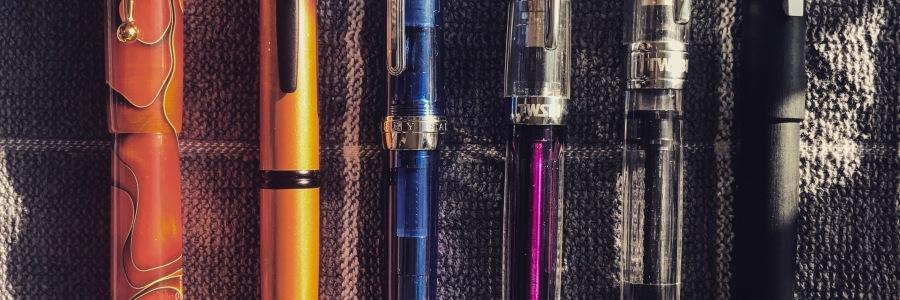 My trusty pen steeds!