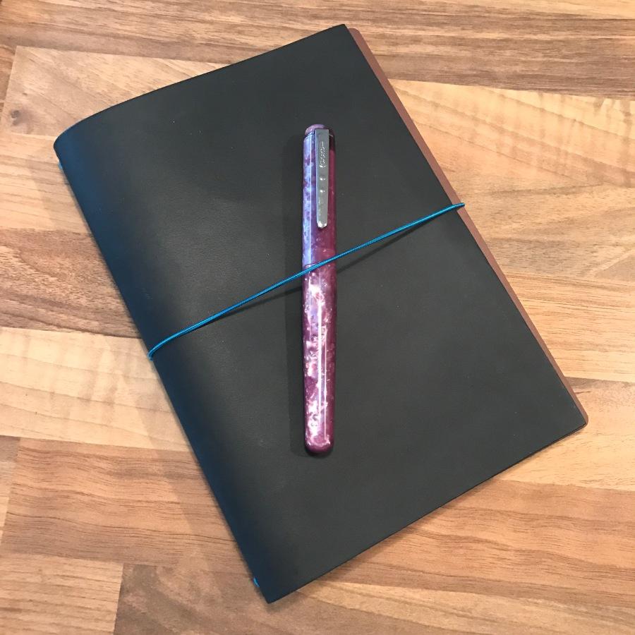 A5 Notebook Peak-a-boo